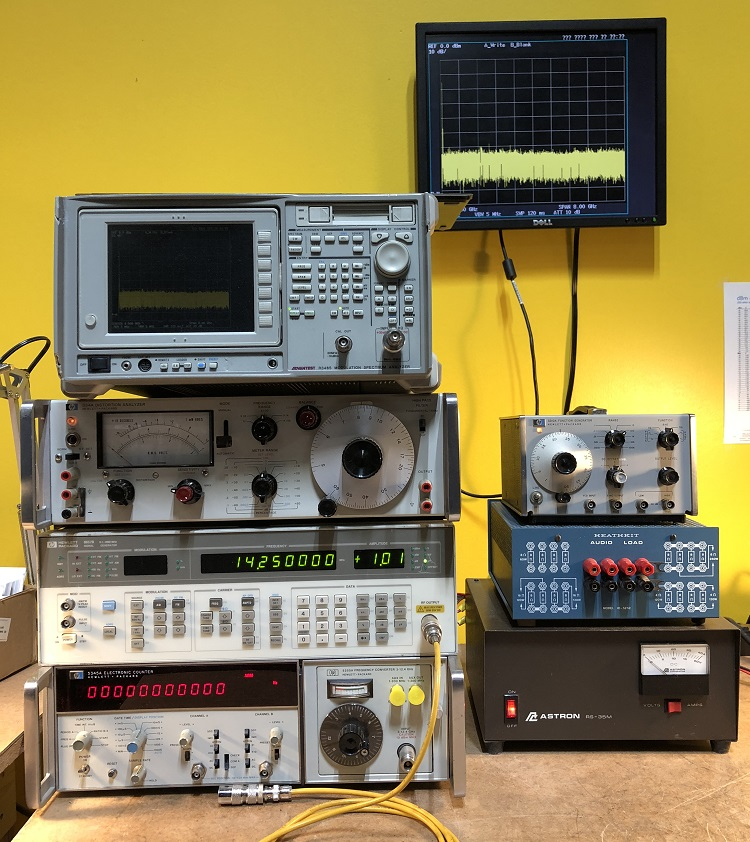Electronic Test Benches : Test bench equipment testing schulman auction realty